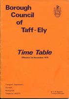 Time and fare tables