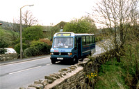 349 - Saddleworth Park and Ride services