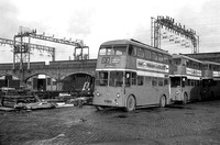 Manchester 1333 fn (ONE 733) Hyde Road Garage 31-Dec-1966