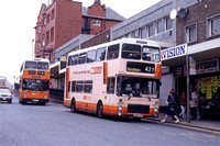 SELNEC/GMT buses working from Oldham