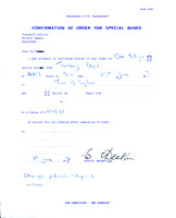 Order confirmation 1971