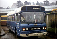 Taff-Ely BC 33 (FUH 33V) Caerphilly bus station c1981 John Law