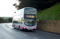 10, 180 and X80 - Manchester to Greenfield