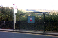 Saddleworth bus stops and signs