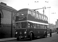 Doncaster 352 (FNY 984) Greyfriars Road depot c1958 John Law